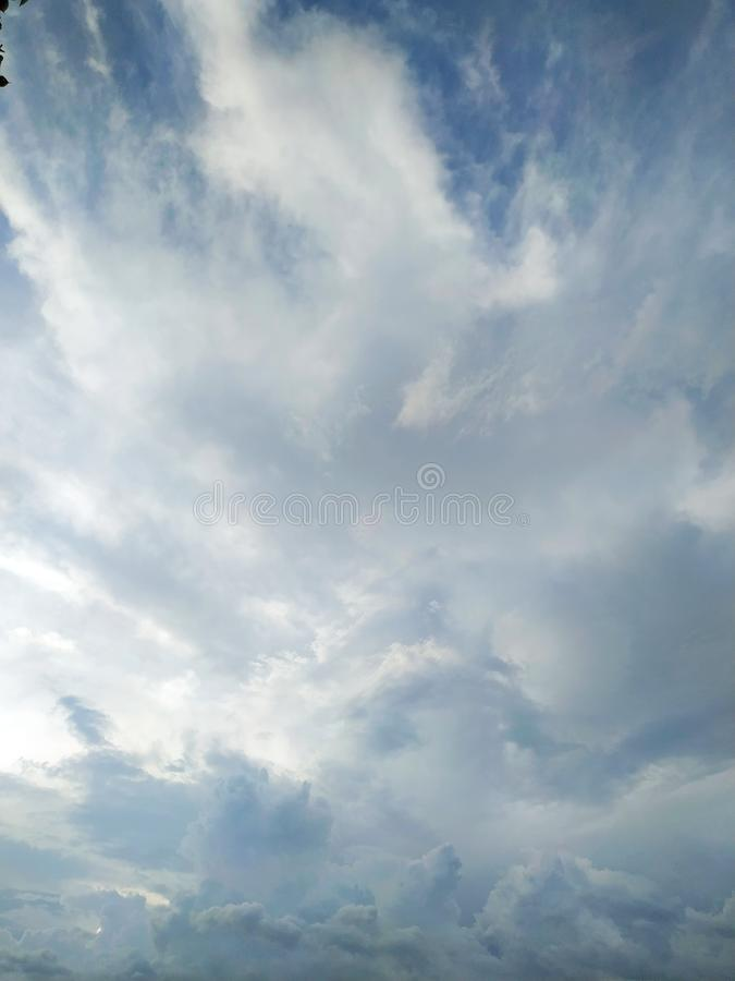Cloud water sky. Natural, beauty, fly, nature, enviromental royalty free stock images