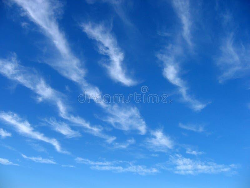 Cloud Wispy Zdjęcia Stock
