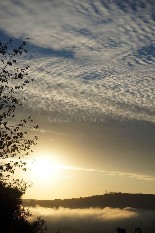 cloud wschód słońca obrazy royalty free