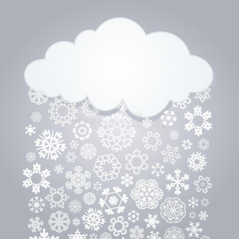 Cloud4 lizenzfreie abbildung
