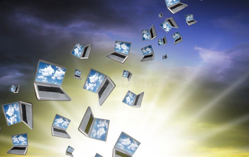 Cloudcomputing 免版税图库摄影