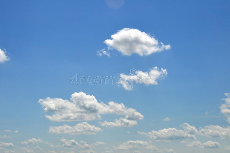 Clouded Sky Royalty Free Stock Photography