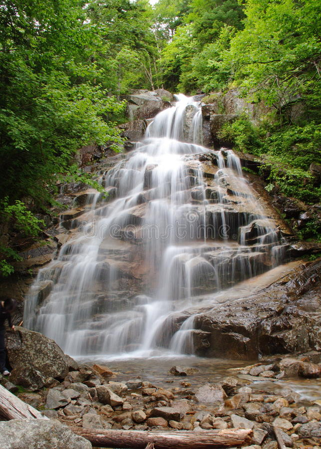 Download The Cloudland Falls stock photo. Image of falling, hampshire - 11729924