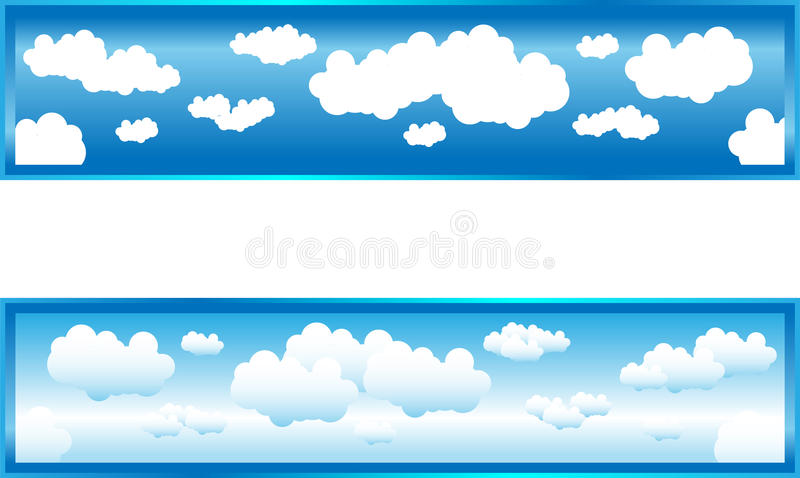 Clouds stock illustration
