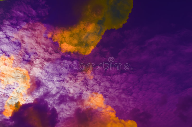 Download Clouds stock photo. Image of daylight, puffy, atmosphere - 1407558