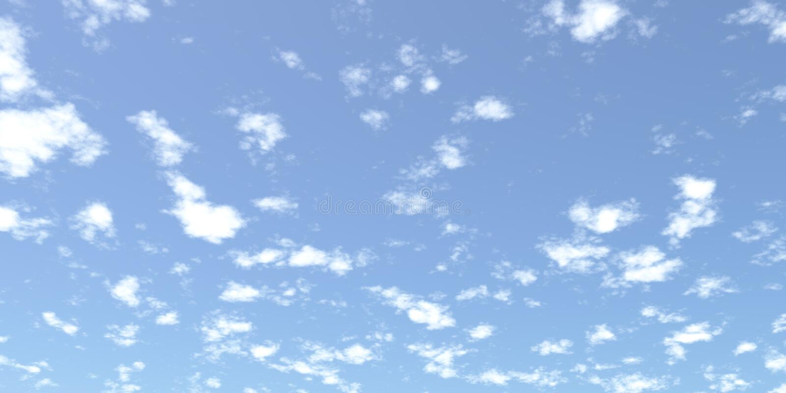 Download Clouds stock illustration. Illustration of blue, cloudy - 14630272