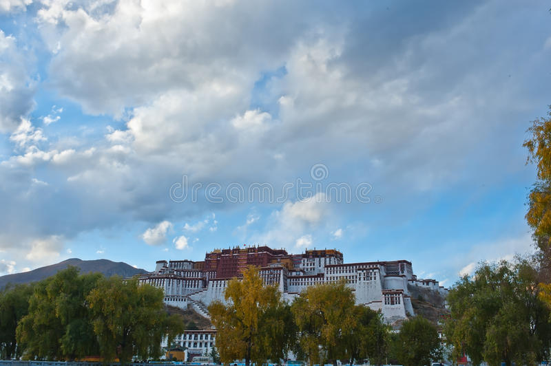 Download Clouds stock photo. Image of buildings, tibet, famous - 24066332