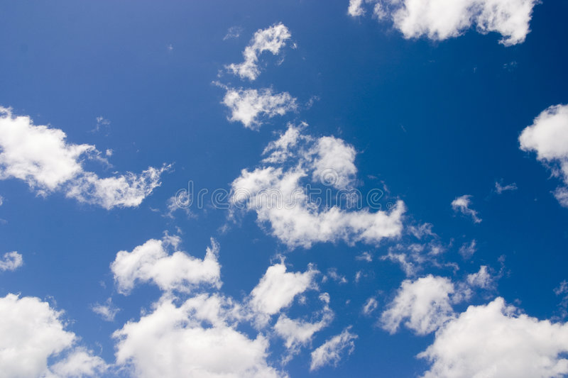 Download Clouds stock image. Image of puffy, heaven, frown, oblaci - 2547317