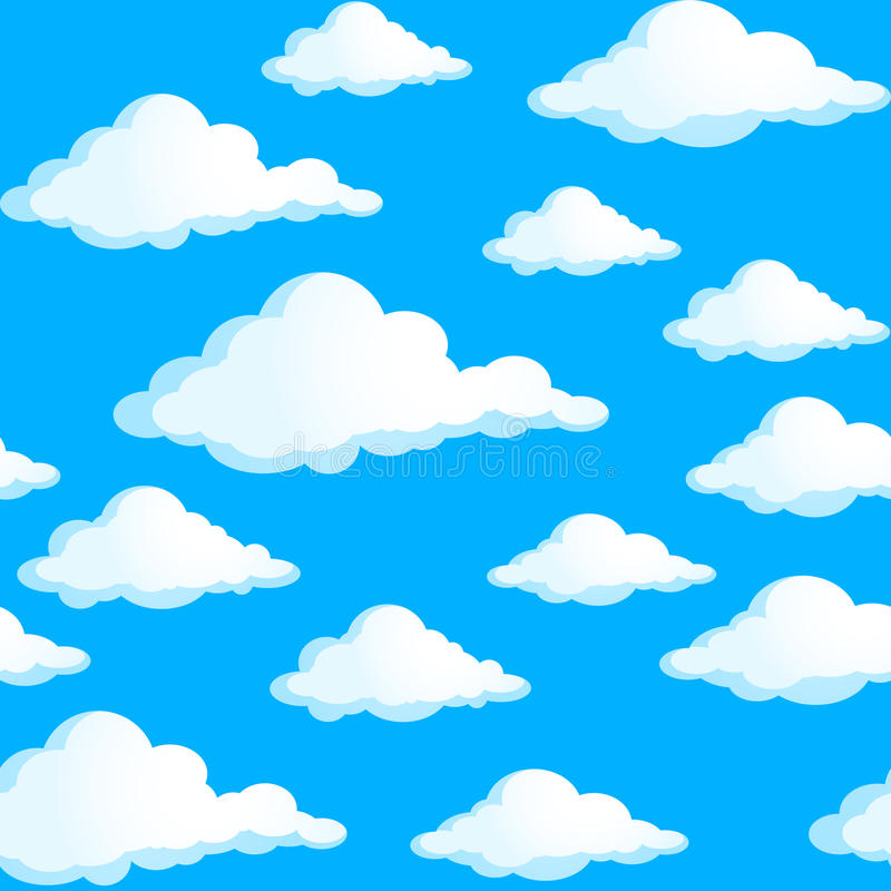 Download Clouds stock vector. Image of fluffy, decoration, graphic - 25564920