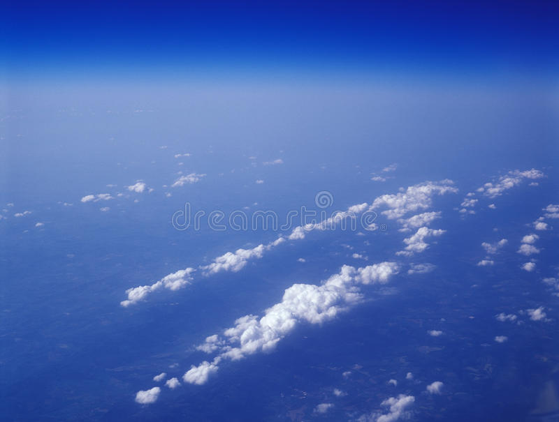 Download Clouds. stock image. Image of blue, flight, cloudscape - 25936489