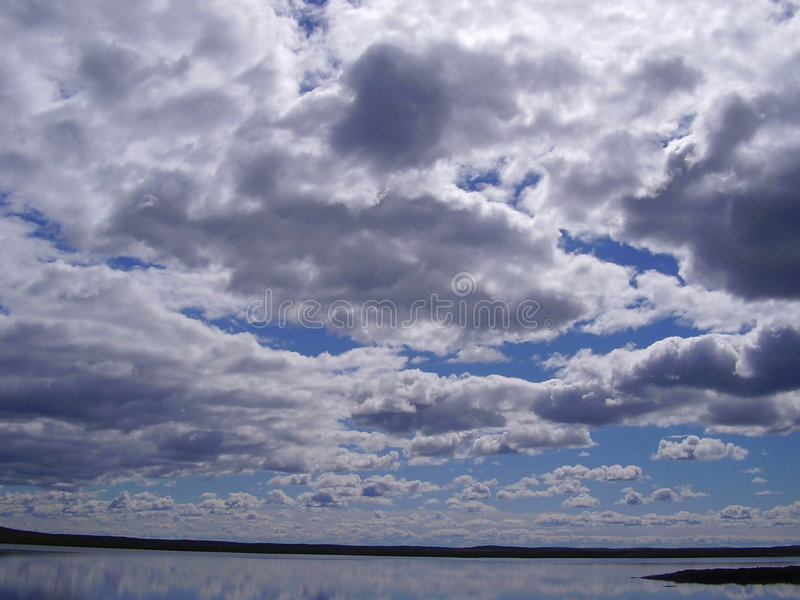 Download Clouds stock photo. Image of image, sunrise, lakes, doppelganger - 2656352