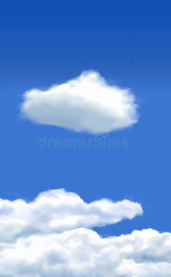 Download Clouds stock image. Image of single, nature, cumulus - 28050451