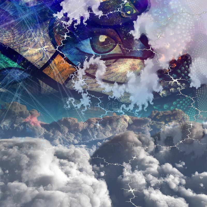 Free Clouds And Abstract Stock Image - 194311961