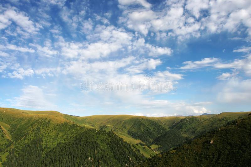 Download Clouds  Atop The  Mountains Stock Photo - Image: 6332328