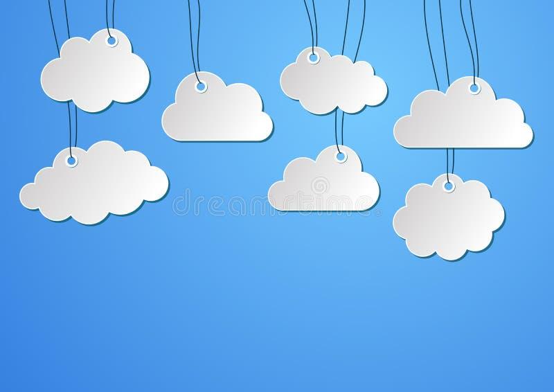 Download Clouds background stock vector. Illustration of artwork - 39515313