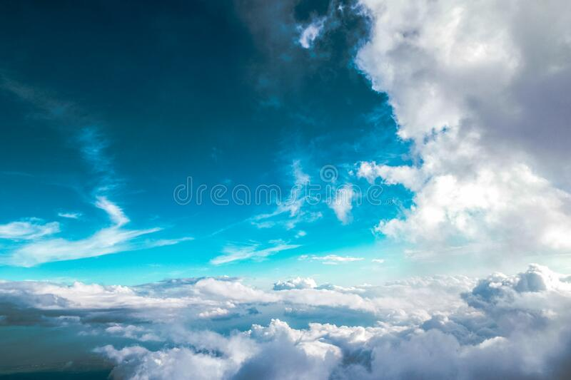 Clouds In Blue Skies Free Public Domain Cc0 Image
