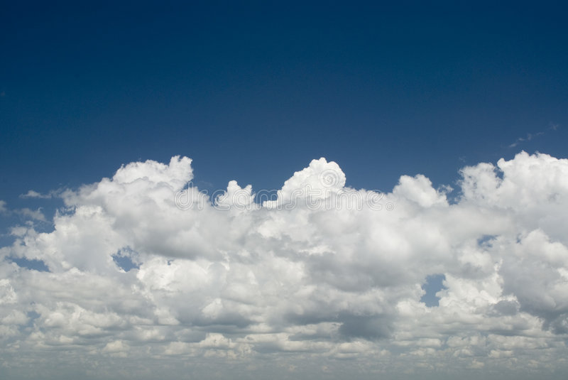 Clouds and blue sky royalty free stock images