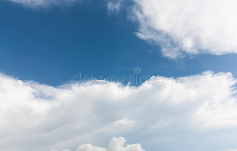 Download Clouds in blue sky stock image. Image of heaven, image - 26964417