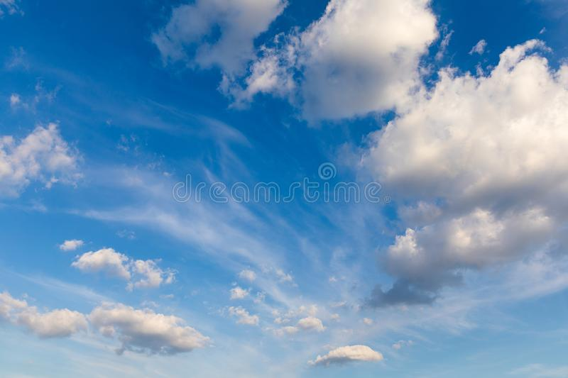 Clouds and blue sky background. Blue sky background with clouds. Beautiful clouds with blue sky background. Nature weather, cloud stock photos