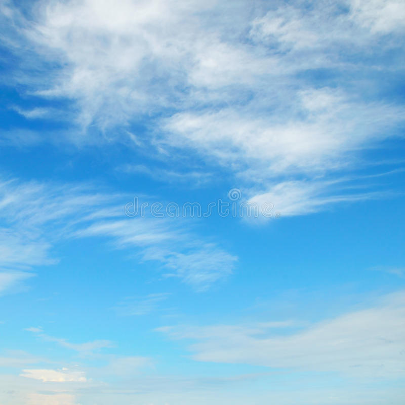 Download Clouds in the blue sky stock photo. Image of blue, cloudy - 32914392