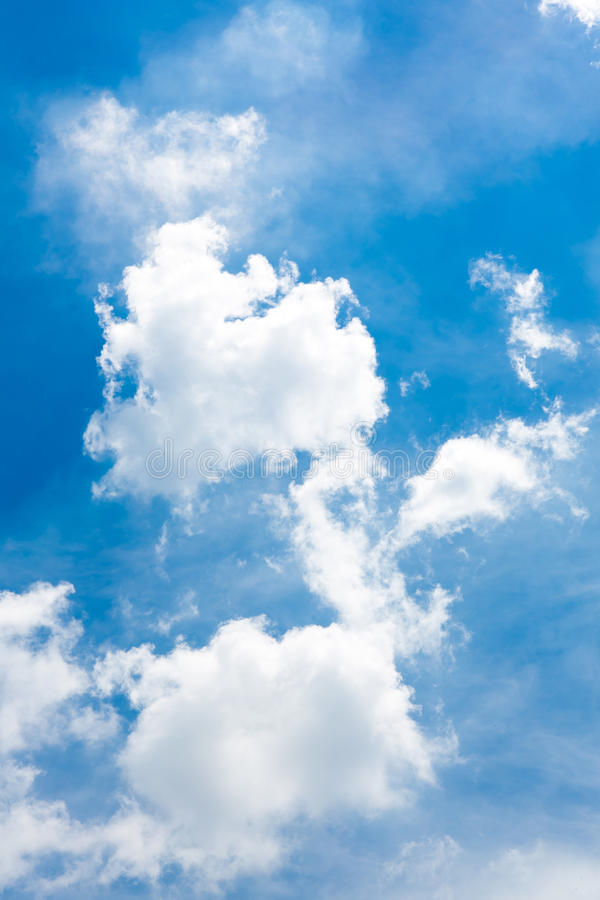Download Clouds in the blue sky stock image. Image of beauty, nimbi - 33403699