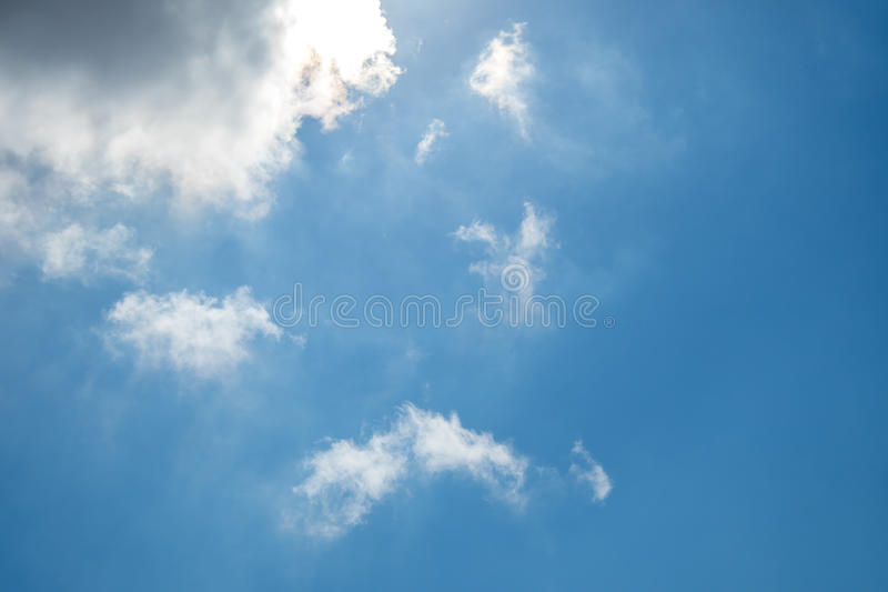 Clouds on Blue Sky royalty free stock image