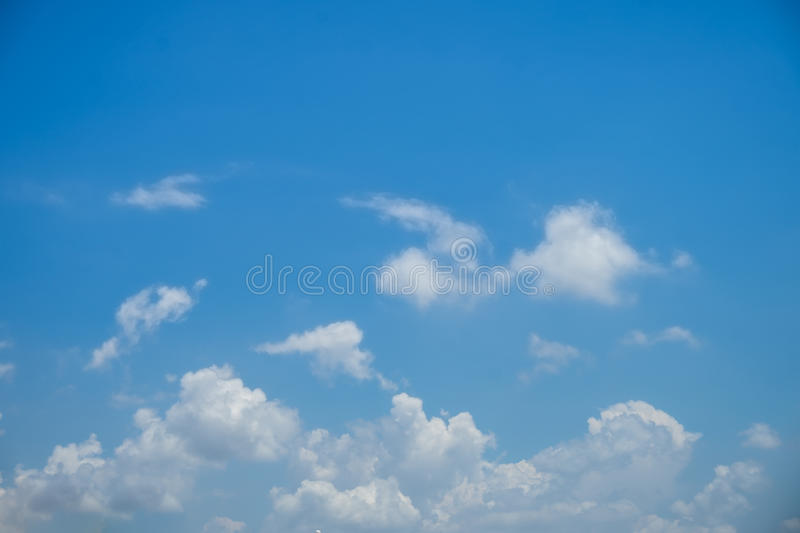The Clouds on Blue Sky royalty free stock image