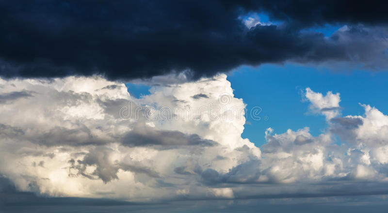 Clouds. Cloud in the blue sky stock photo