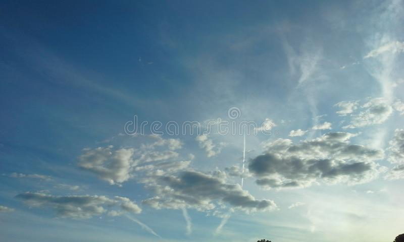 Clouds. Cloud in the sky royalty free stock photo
