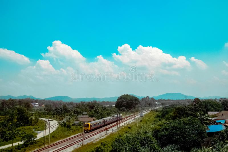 Clouds, Country, Countryside royalty free stock image