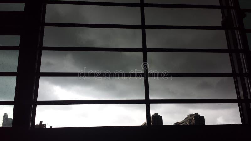 clouds dark royaltyfri fotografi