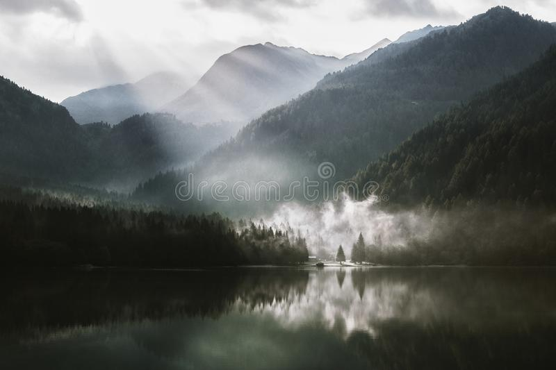 Clouds, Daylight, Fog, Foggy royalty free stock images