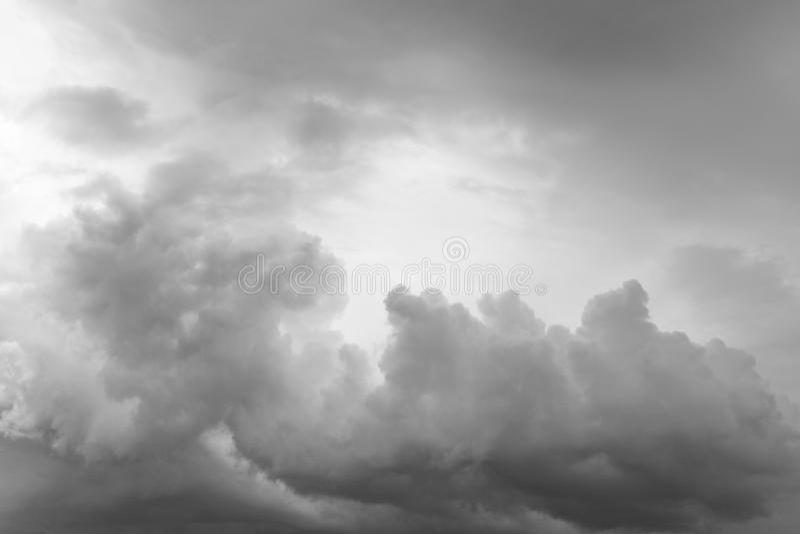 clouds den gråa stormen royaltyfri fotografi
