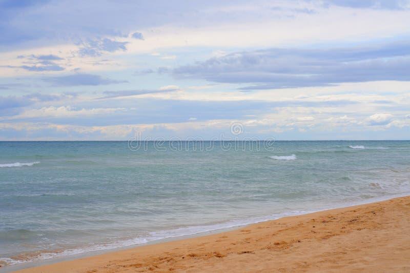 clouds det ionian havet fotografering för bildbyråer