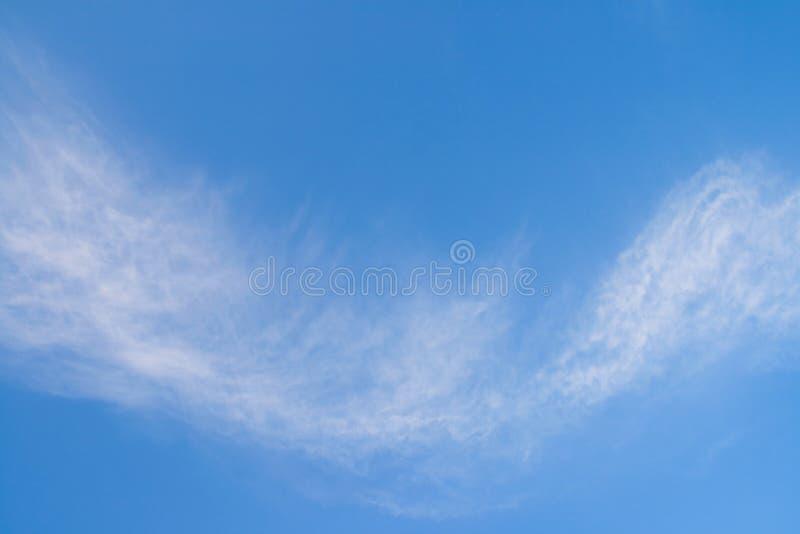clouds fleecy royaltyfri fotografi
