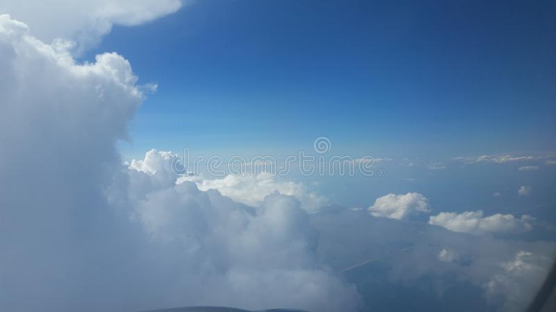 Clouds. stock images