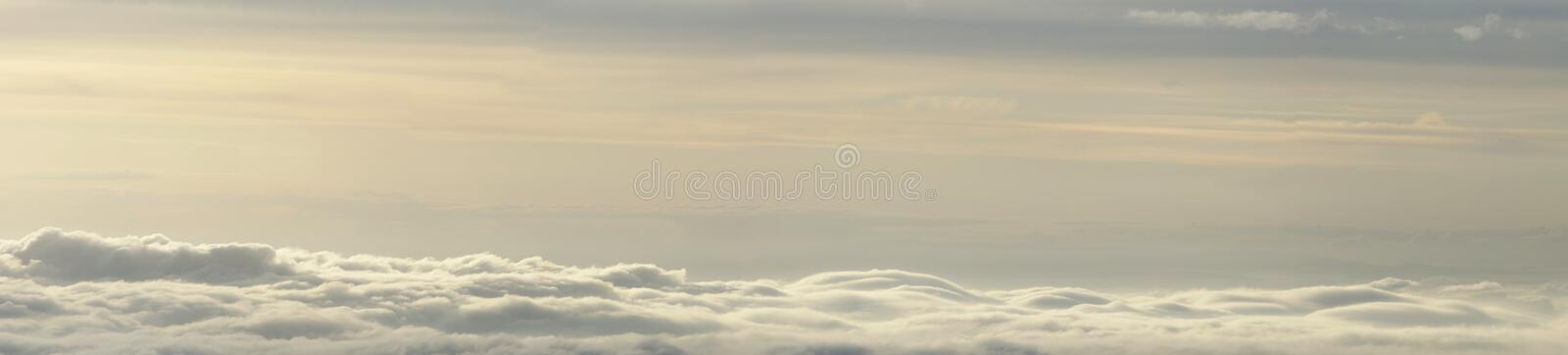 Download Clouds and fog panorama stock illustration. Image of sunset - 13522123