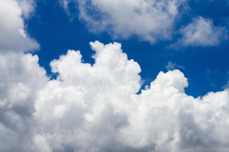 Clouds Form Phenomena. Abstract Clouds Form In The Air Of Natural Phenomena royalty free stock photos