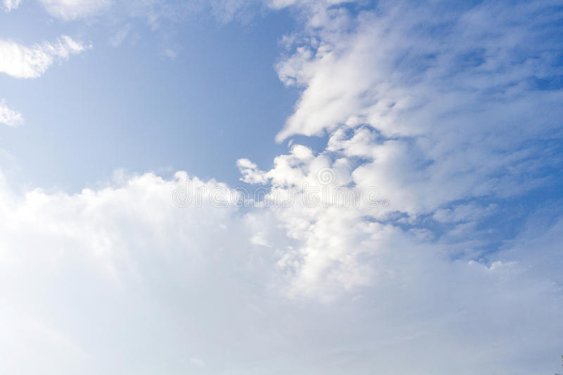 Clouds Form Phenomena. Abstract Clouds Form In The Air Of Natural Phenomena stock photos