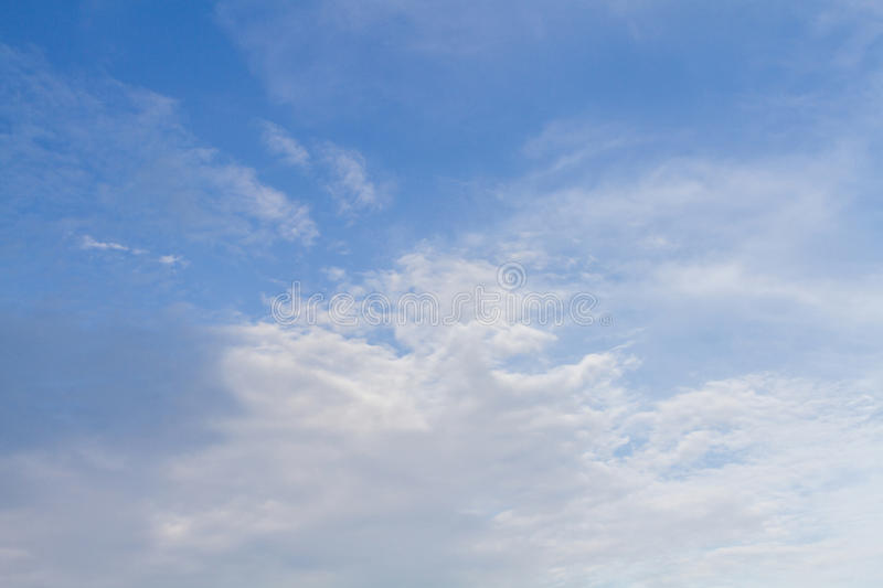 Clouds Form Phenomena. Abstract Clouds Form In The Air Of Natural Phenomena royalty free stock photo