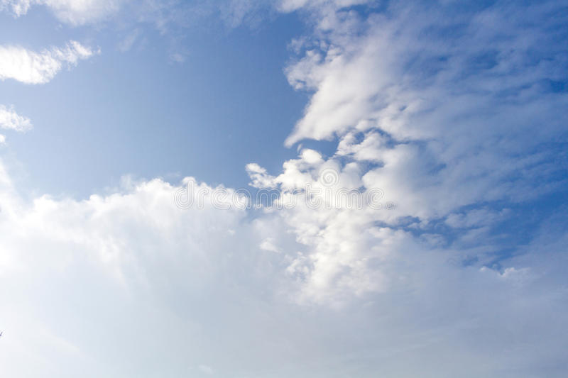Clouds Form Phenomena. Abstract Clouds Form In The Air Of Natural Phenomena royalty free stock photography