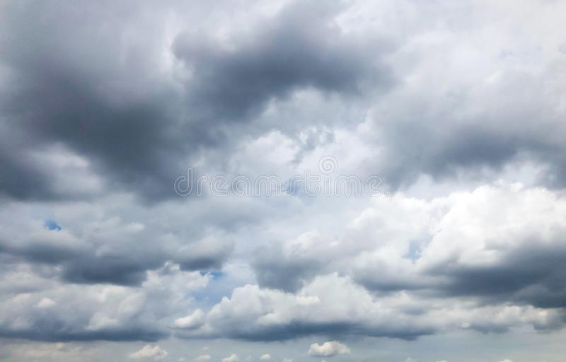 Clouds are forming above the blue sky. Clouds are forming above the blue sky before turning into  storm royalty free stock images