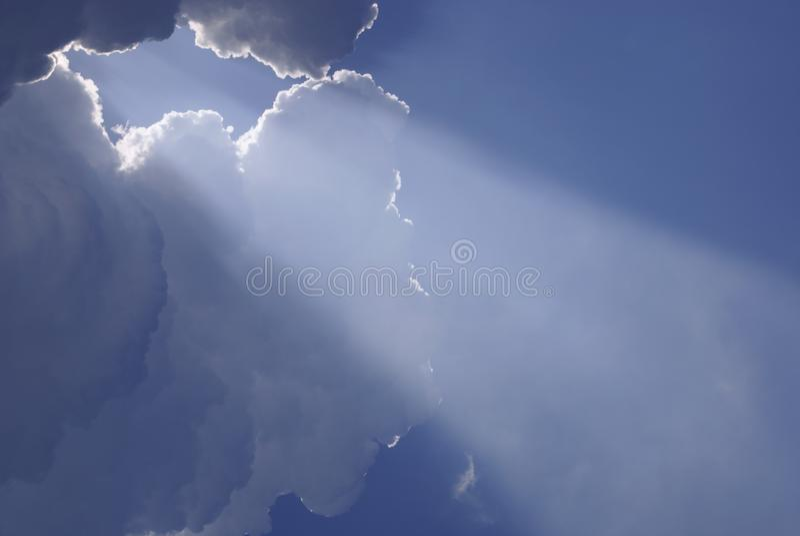 clouds heavenly sunlight стоковые фото