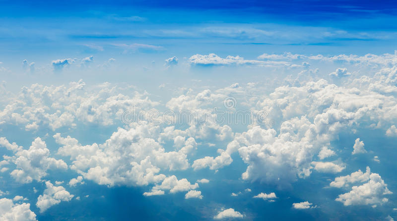 Clouds on the horizon. Clouds sky on the horizon royalty free stock photos