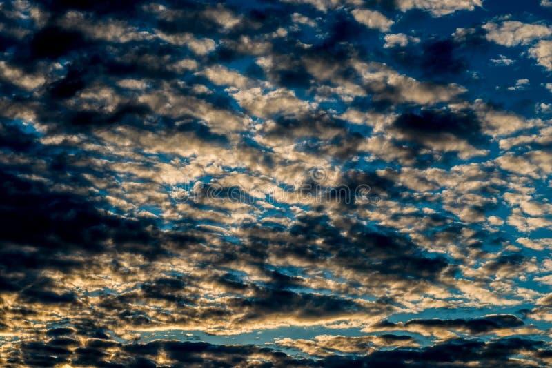 Clouds landscape background. Of dark skies stock photo