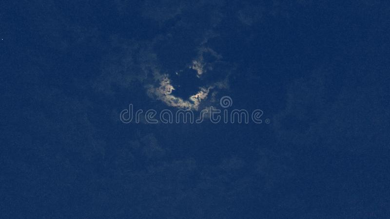 Clouds in Moonlight royalty free stock photo
