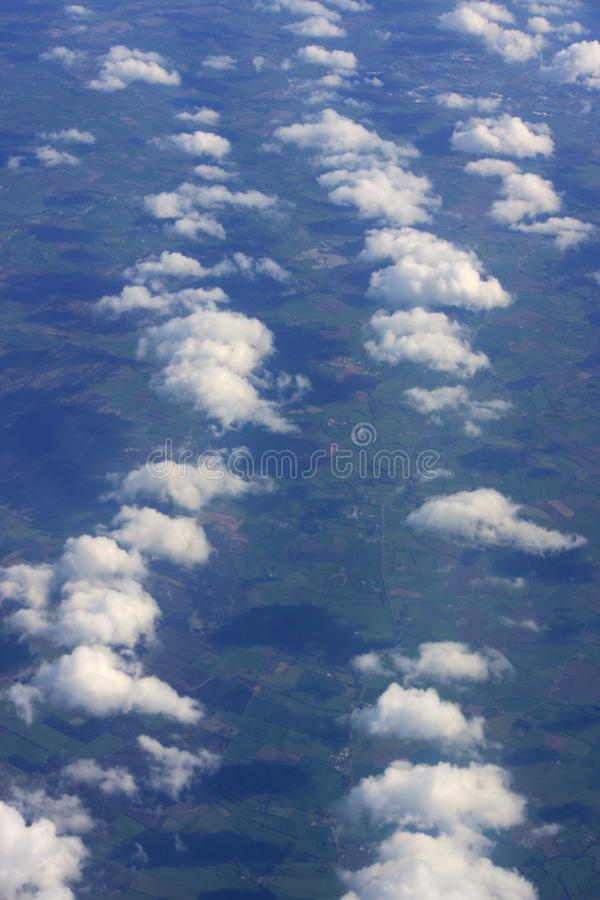 Download Clouds over Ireland stock photo. Image of cumulus, view - 27445232