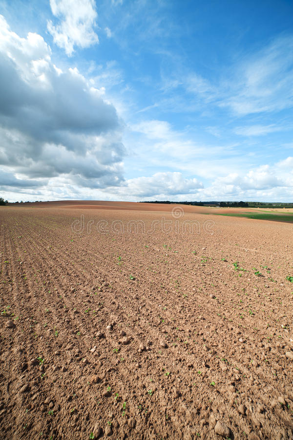 Download Clouds Over Land. Stock Photos - Image: 26512143