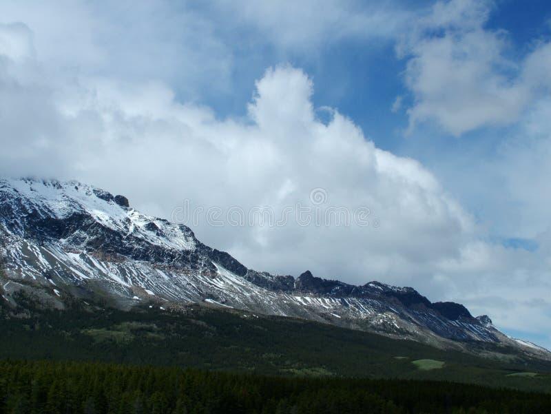 Clouds Over Marias Pass stock photos