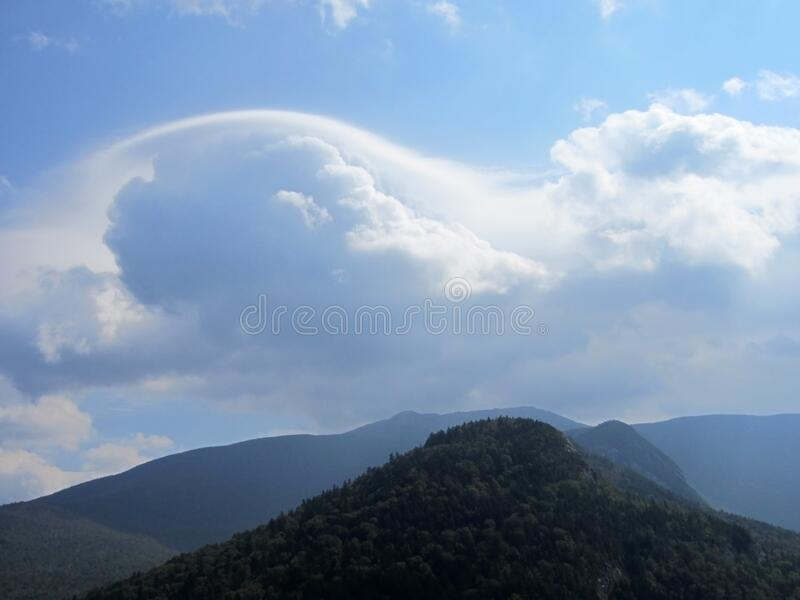 Clouds Over Mountains Free Public Domain Cc0 Image